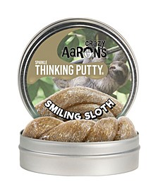 "Thinking Putty Full Size 4"" Thinking Putty Tin - Smiling Sloth"