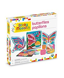 Butterflies Design Mosaic Craft by Numbers Kit - 2344 Pieces