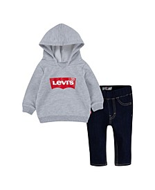 Toddler Boys 2 Piece T-shirt and Jeans Set