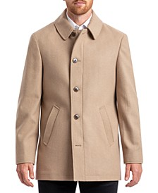 Men's Classic Single Breasted Overcoat