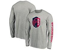 Authentic MLS Apparel St. Louis City SC Men's Logo Long Sleeve T-Shirt