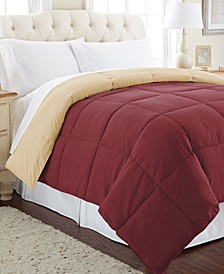 Down Alternative Reversible Comforter, King