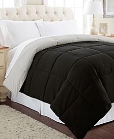 Down Alternative Reversible Comforter, Full/Queen