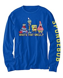 Big Boys SpongeBob What's That Smell T-shirt