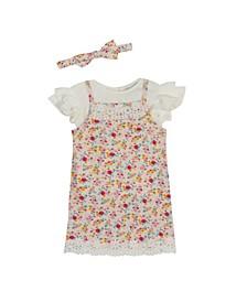 Toddler Girls Rib Knit Jumper