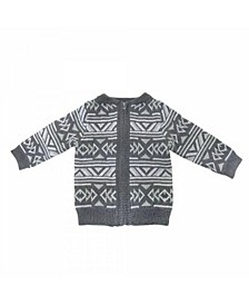 Toddler and Baby Boys and Girls Cotton Knit Jackets and Pullovers