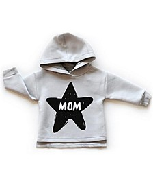Baby Boys and Girls Prints Long Sleeve Hoodie, Mom