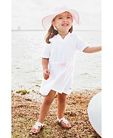 Baby Girls Ruffle Terry Cover-Up