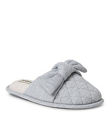Women's Nora Striped Scuff with Knot