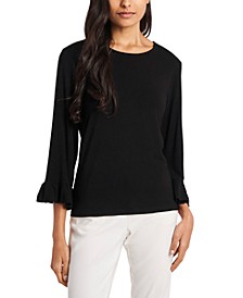 Rosalie Ruffle-Cuff Top, Created for Macy's