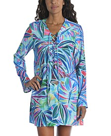 Printed Tunic Cover-Up
