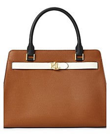 Fenwick Medium Leather Satchel
