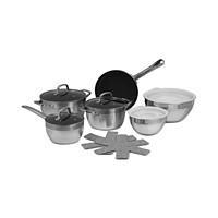 13-Pieces Cook Prep Eat Aluminum Cookware Set