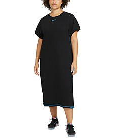 Plus Size Icon Clash Maxi Dress