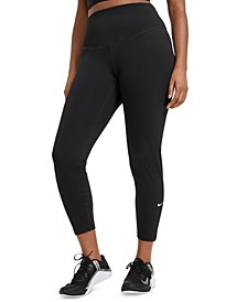 One Plus Size Women's Mid-Rise Leggings
