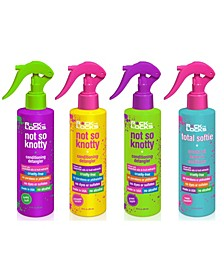 4-Pc. Not So Knotty Conditioning Detangler and Total Softie Coconut Oil Leave-in Conditioner Set