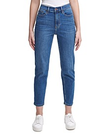 High-Rise Slim Ankle Jeans