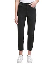 Slim-Leg Ankle Jeans