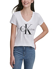 V-Neck Logo T-Shirt