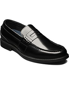 Lincoln Men's Moc Toe Penny Loafer