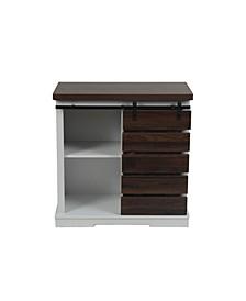 Pallet Sliding Door Storage Cabinet
