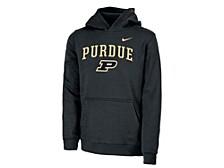 Purdue Boilermakers Youth Club Fleece Pullover Hooded Sweatshirt