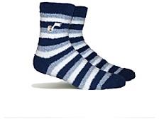 Women's Utah Jazz Fuzzy Steps Socks