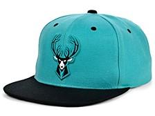 Milwaukee Bucks Minted Snapback Cap