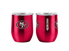 San Francisco 49ers 12oz. Curved Tumbler