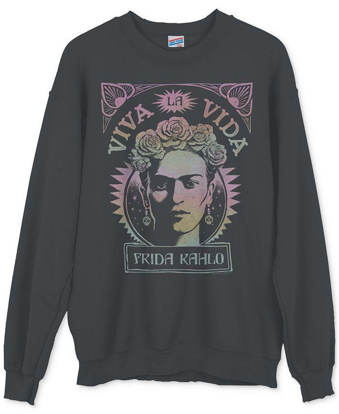 Junk Food - Frida Khalo Graphic Sweatshirt