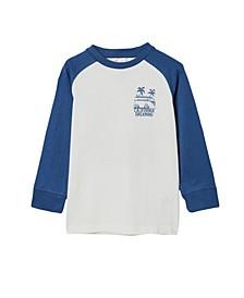 Little Boys Tom Long Sleeve Raglan T-shirt
