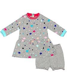 Organic Baby Girl 2-Piece Lilly Dress