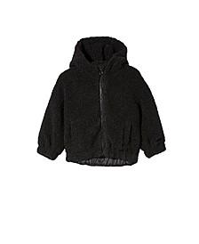 Toddler Girls Tallulah Teddy Hooded Jacket