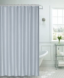 "Waffle Weave Shower Curtain, 70"" W x 72"" L"