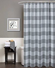 """Imperial Checkered Shower Curtain, 70"""" W x 72"""" L"""