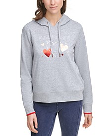 Heart Graphic Hoodie