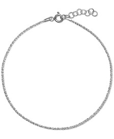 Sparkle Link Bracelet in Sterling Silver, Created for Macy's