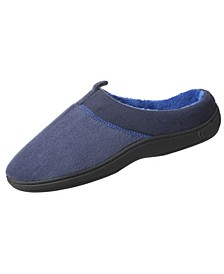 Men's Microterry Jared Hoodback Slippers with Memory Foam