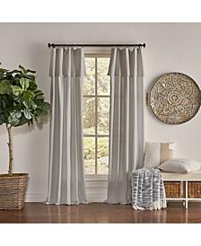 "Mercantile 50"" x 63"" Drop Cloth Curtain Panel"