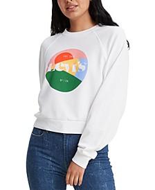Women's Vintage Raglan Crewneck Sweatshirt