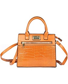 Women's Ellen Vegan Leather Satchel