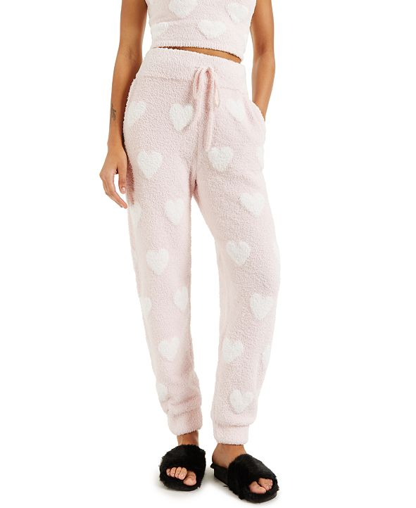 INC International Concepts CULPOS x INC Fuzzy Knit Joggers, Created for Macy's