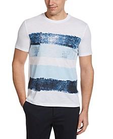 Men's Allover Print Slub Short Sleeve Tee