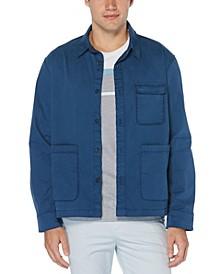 Men's Slim Fit Stretch Shirt Jacket