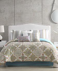 Lacy Comforter with 6 Bonus Pieces Set, King