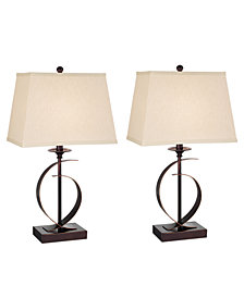 Pacific Coast Novo Set of 2 Table Lamps