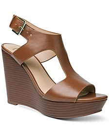 INC Valleri Wedge Sandals, Created for Macy's