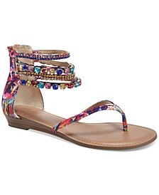Irina Bling Flat Sandals, Created for Macy's