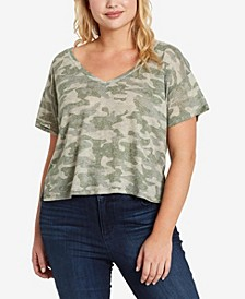 Women's Plus Size Dahlia V-Neck Tee