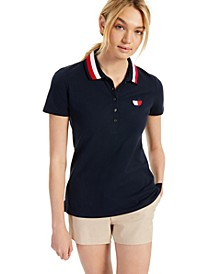 Logo Tipped Polo